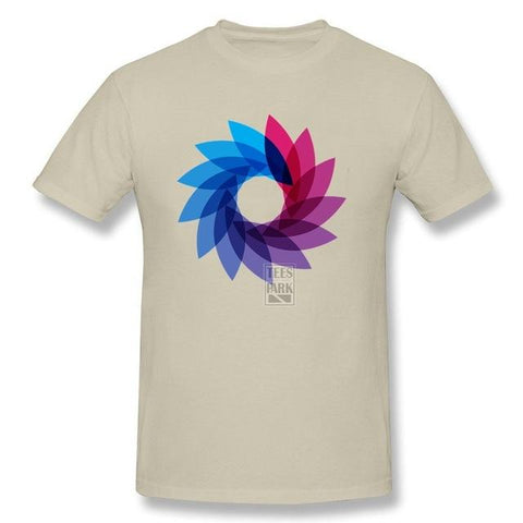 Bisexual Pride Abstract T-Shirt