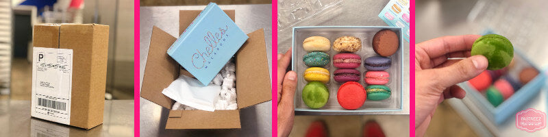 Chelles macarons review and unboxing