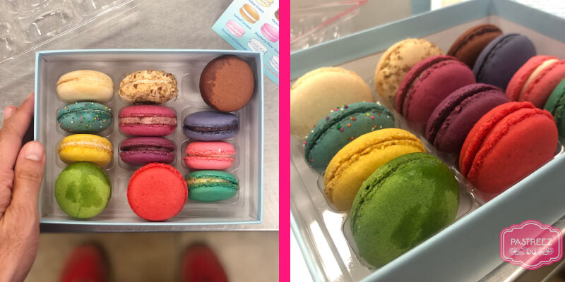 Chelles macarons unboxing review