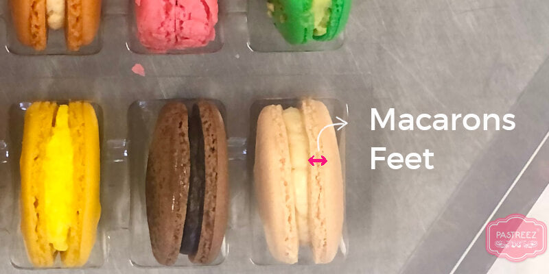 What are macarons feet: Explanation
