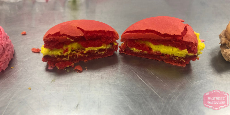 Mystery macaron from Macaron Queen