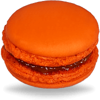 Pumpkin Orange Macarons