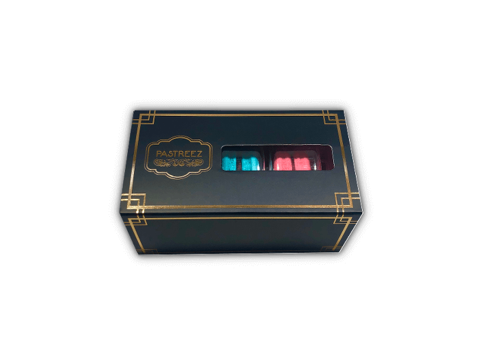 3 macarons box - Variety set