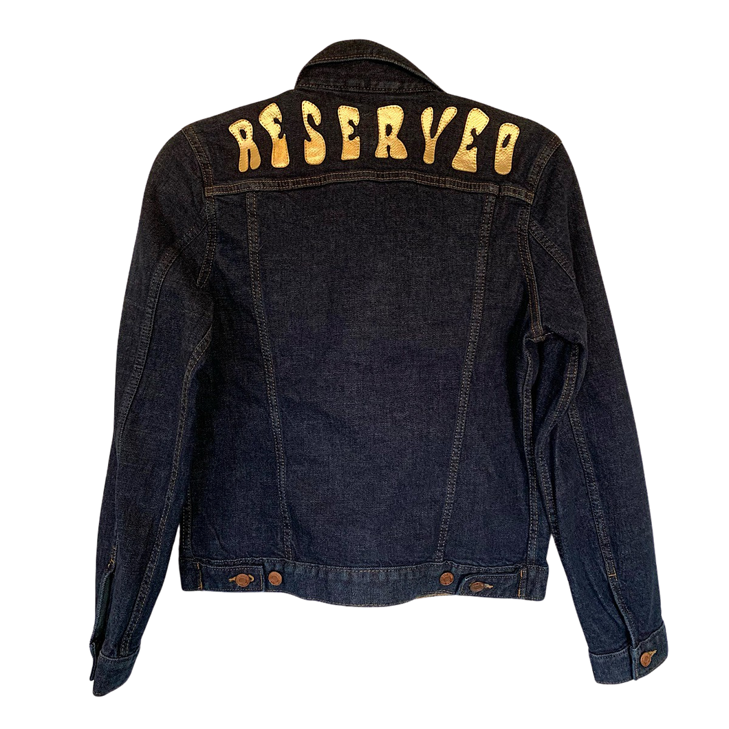 INDIGO WASHED DENIM JACKET