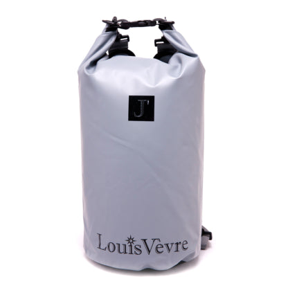 GREY DRY BAG - Black Louis Vevre Logo