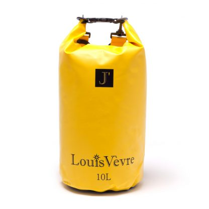 YELLOW DRY BAG - Black Louis Vevre Logo