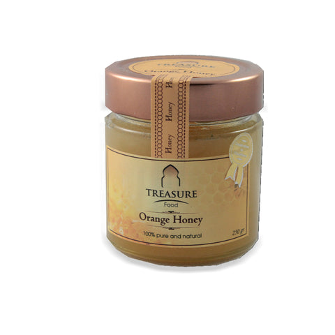 MIEL D'ORANGER NATUREL Treasure Food - 250g
