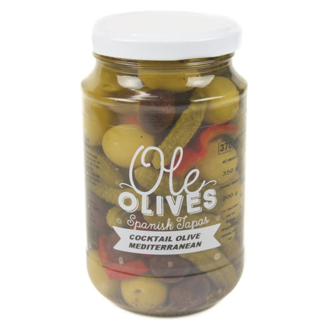 Cocktail aux olives et cornichons, Don Gastronom - 350g