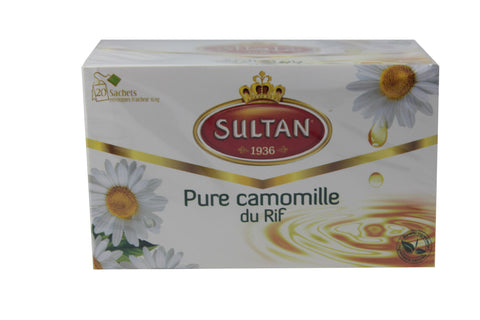 "INFUSION ""PURE CAMOMILLE DU RIF"" Sultan - 32 g"