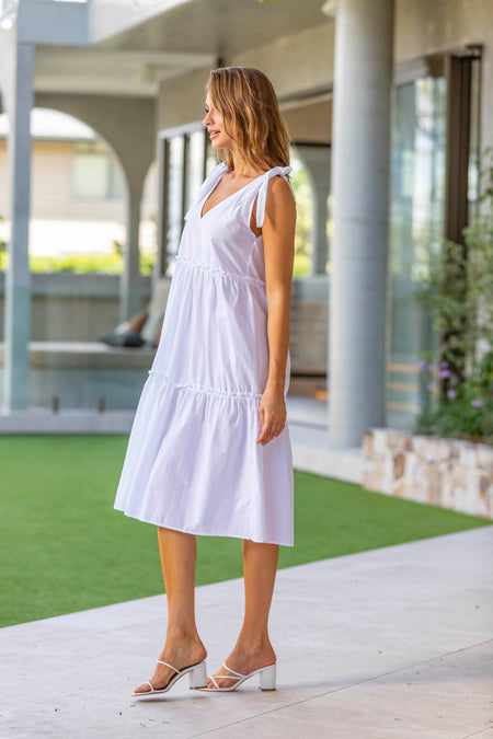 Mara Dress - Peach
