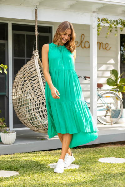 Sanita Dress - Emerald