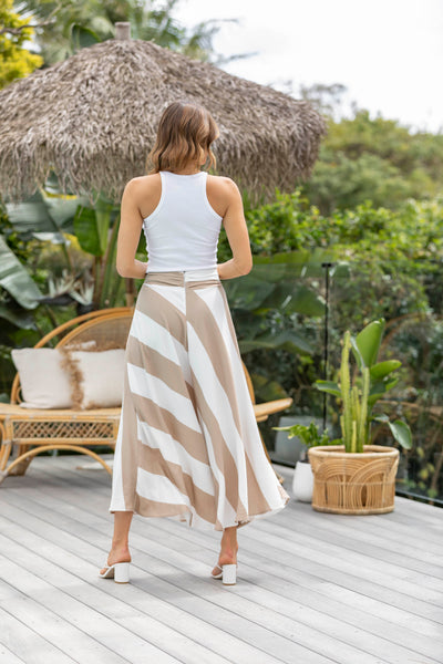 Dakota Linen Skirt