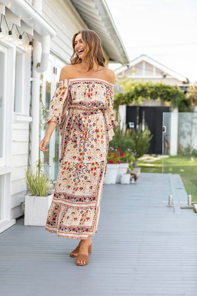 Havana Off Shoulder Maxi