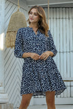 Emery Dress - Navy
