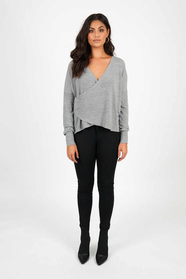 RYLEE KNIT - GREY