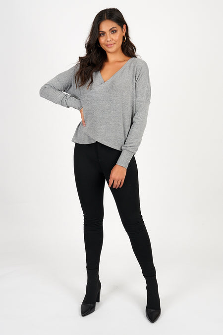 GABI JUMPER by IDS - BLACK