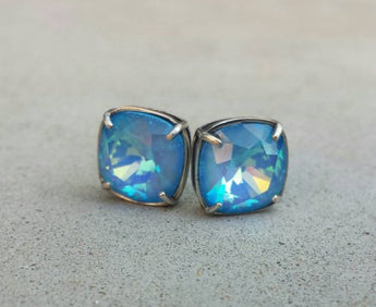 Swarovski Crystal, So Studly, 925 Sterling  Silver Post Earrings