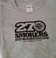 270 T-shirt, Short-sleeved, Grey, Crew Neck