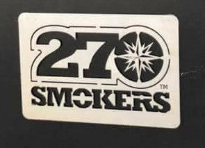 270 Logo - Stainless Steel Plate