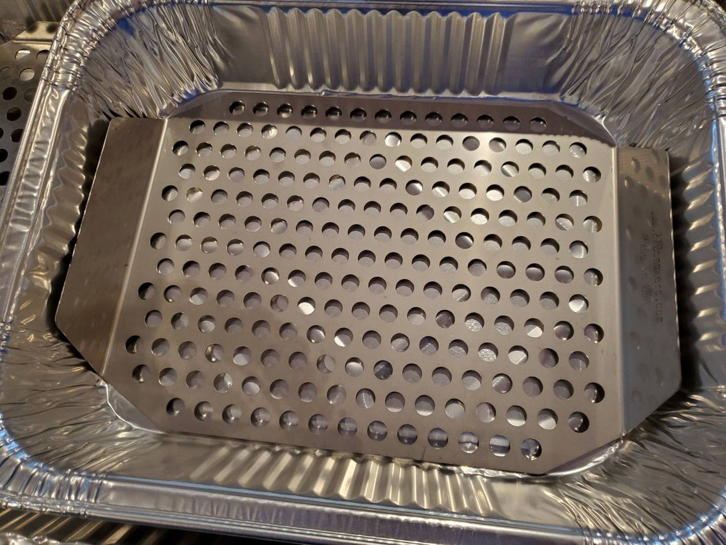 270 Wolf Tray (Stainless Smoking & Grilling Tray)