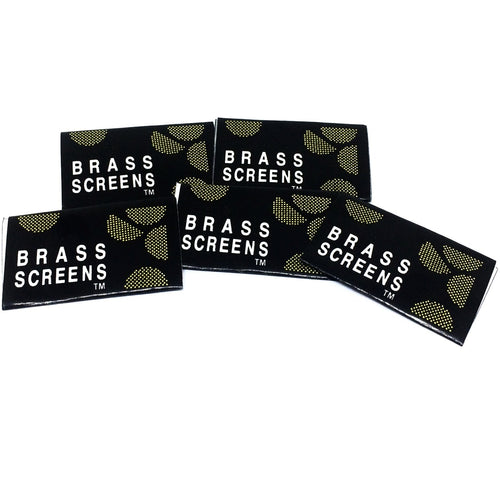 Pipe Screens 5 Pack - Brass