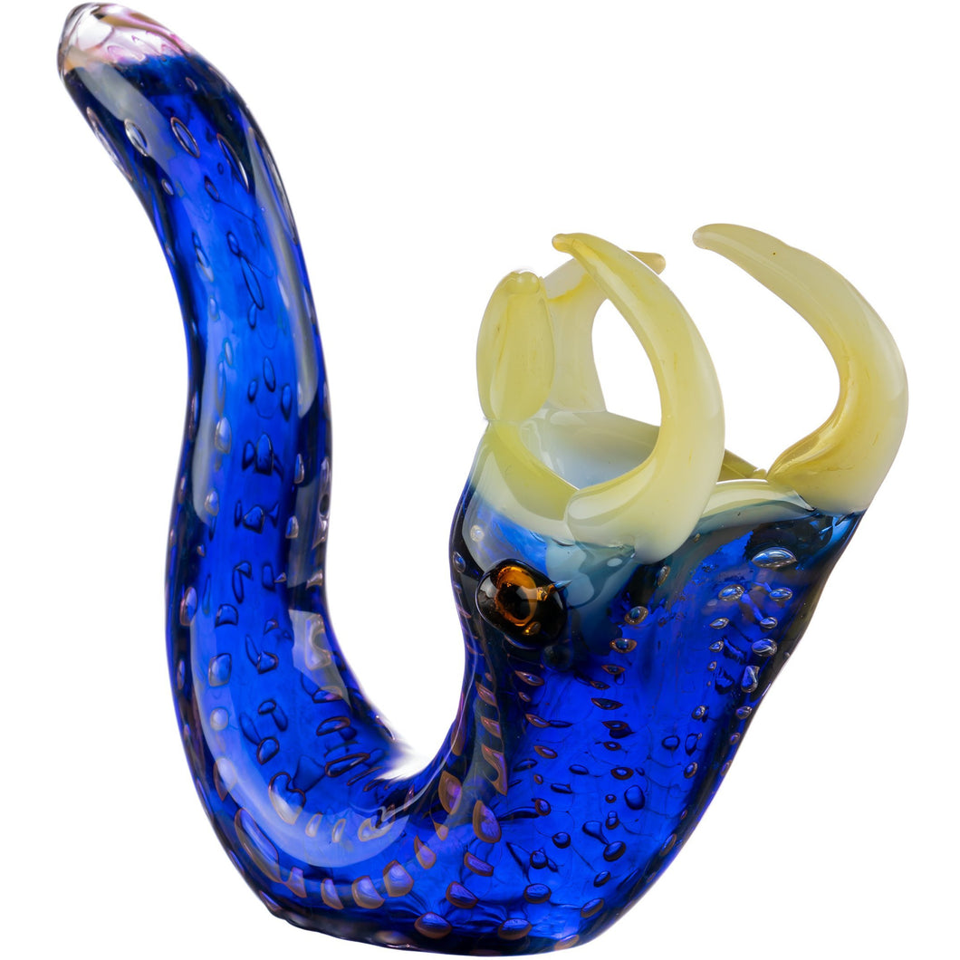 Viper Themed Sherlock Glass Pipe