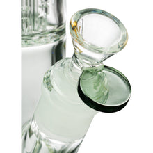 "Diamond Glass 13"" 8 Arm Tree Perc Straight Tube Bong"