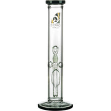 "Diamond Glass 13"" Classic Straight Tube Bong"