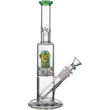 Diamond Glass Skinny Neck UFO Straight Tube Bong