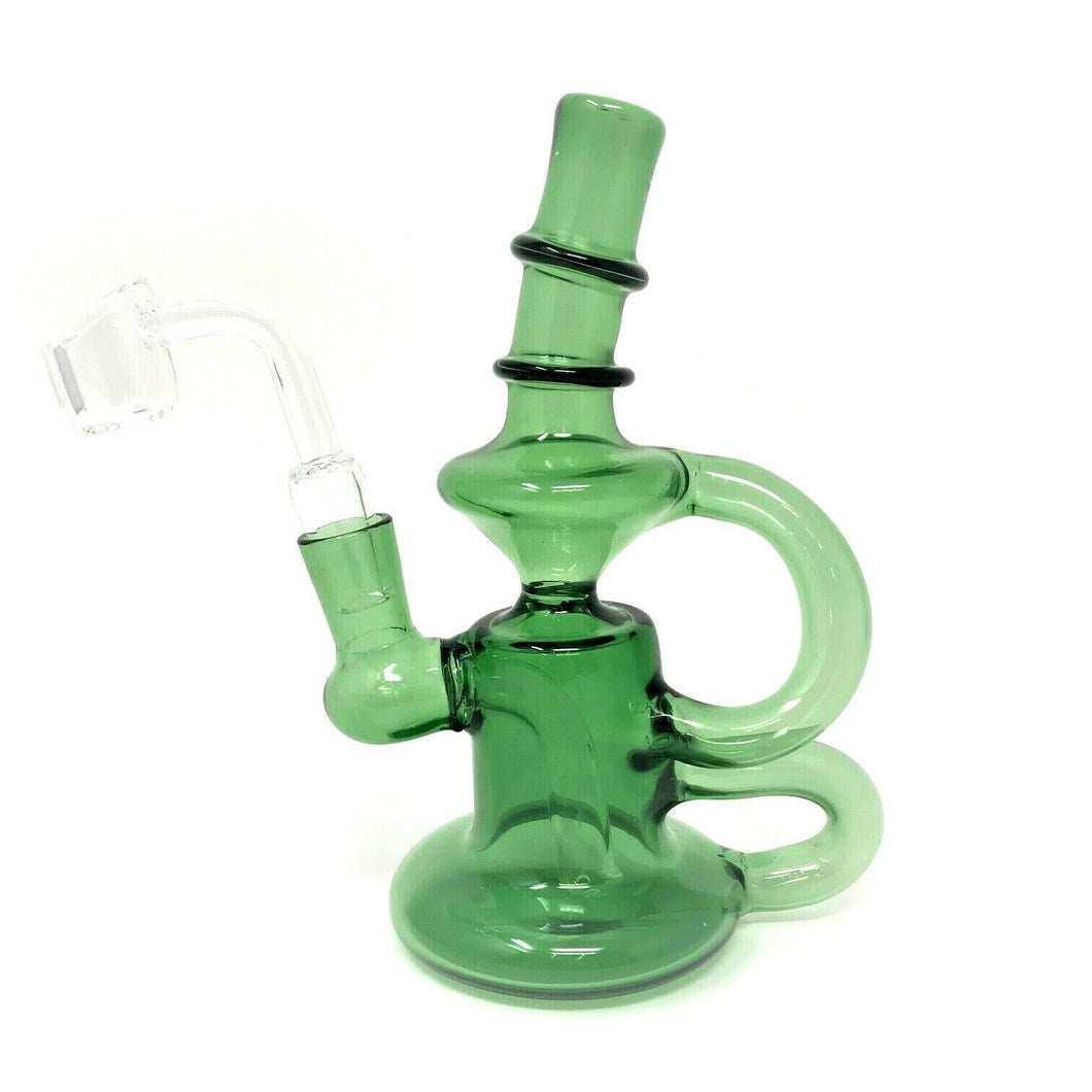 Double Recycler Dab Rig