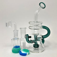 Double Recycler Shower Head Dab Rig Kit