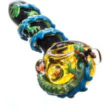 Empire Glassworks Dragon Wrapped Glass Pipe