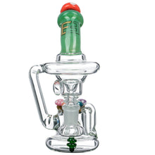"""Mushroom Kingdom"" Recycler by Empire Glassworks"