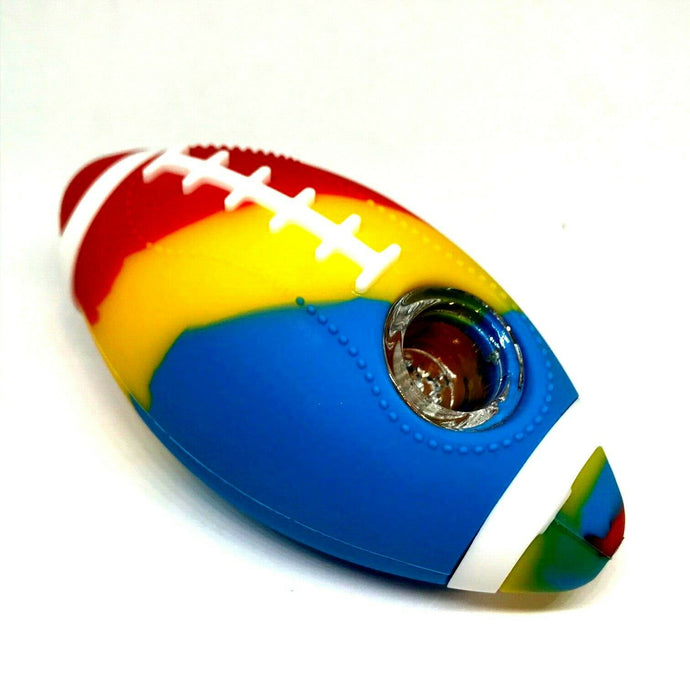 Football Silicone Pipe 4