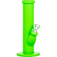 "Nucleus 10"" Silicone Straight Tube Bong"