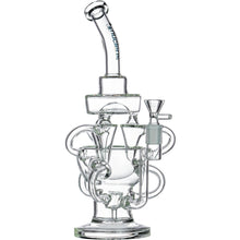 Nucleus Triple Recycler Glass Bong