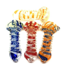 "4"" Coil Wrapped Glass Pipe"