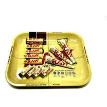 raw rolling paper bundle tray set