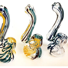 "4"" Swirl Stripe Bubbler"