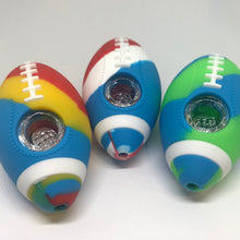 FOOTBALL SILICONE PIPE 4""