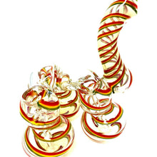 Triple Chamber Thick Glass Bubbler