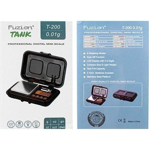 Fuzion Tank T-200 Digital Pocket Scale