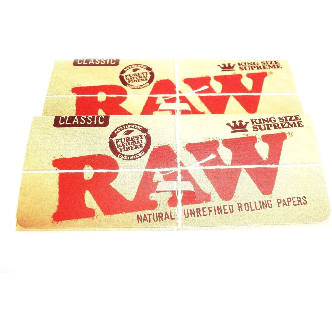 Raw Classic Rolling Papers King Size - 2 pack