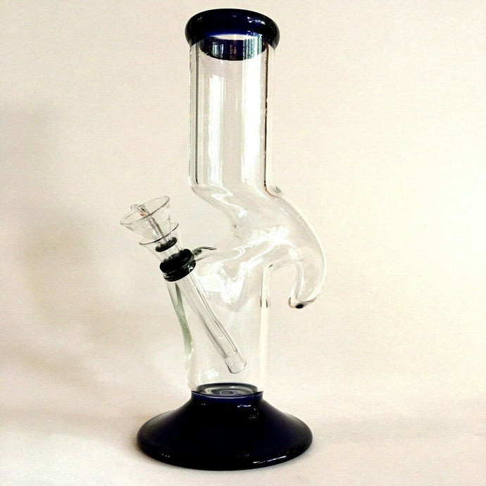 thick glass zong bong water pipe