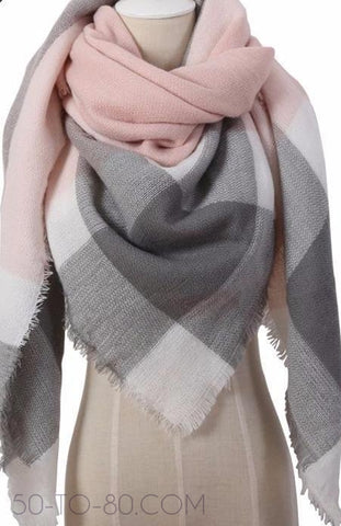 Women's Triangle Winter Wonder Scarves - Multiple Pattern Options-Scarf-50-TO-80.com-50-TO-80