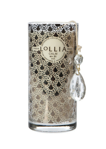 Lollia - Calm (Hyacinth & Honey) Tall Candle-50-TO-80-50-TO-80
