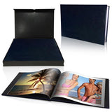 "12x16"" Leather Look Padded Cover Photo Book in Presentation Box"