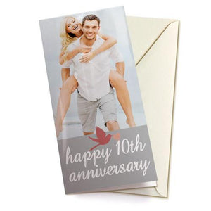"4x8"" Single Sided Card (Single)"