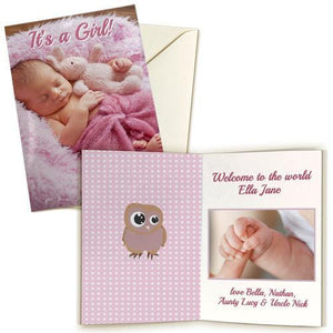 "5x7"" Double Sided Card (Single)"