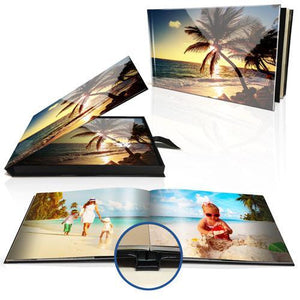 "8x11"" Premium Layflat Photo Book (Landscape) in Personalised Presentation Box"